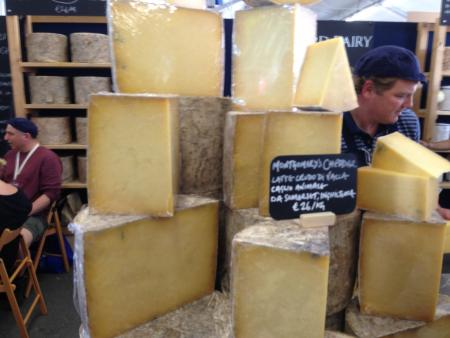 The rise and rise ... of Montgomery Cheddar