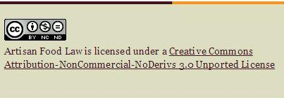 Copyright Artisan Food Law Limited