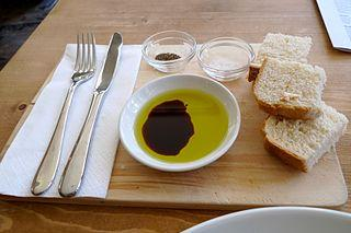 Olive oil for dipping